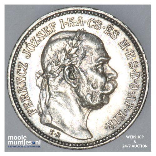 5 corona - Austria 1915 (KM 2807) (kant B)