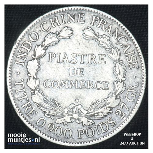 piastre - French Indo-China 1922 H (KM 5a.3) (kant B)