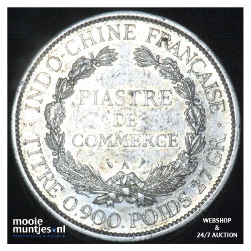 piastre -  - French Indo-China 1900 (KM 5a.1) (kant B)