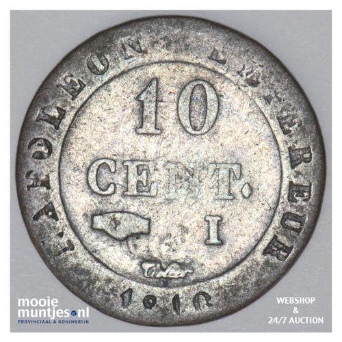 10 centimes - France 1810 I (KM 676.5) (kant A)