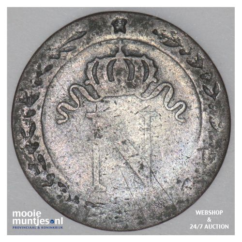 10 centimes - France 1810 I (KM 676.5) (kant B)