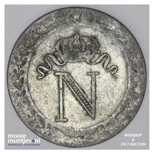 10 centimes - France 1808 A (KM 676.1) (kant B)