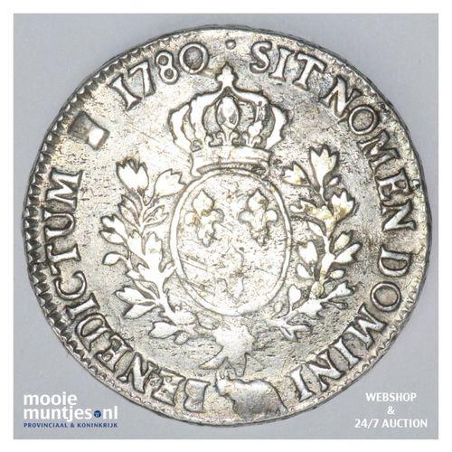 ecu - France 1780 (KM 572) (kant A)
