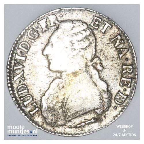 ecu - France 1780 (KM 572) (kant B)