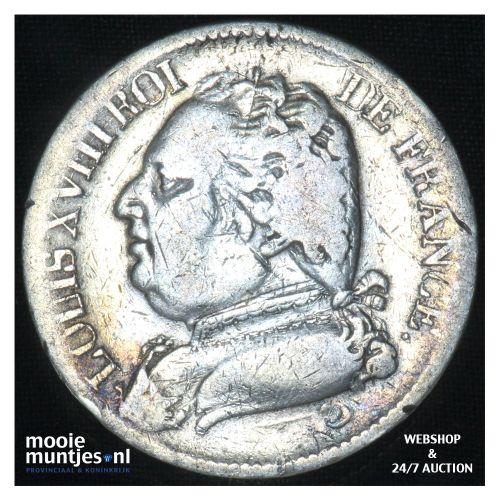 5 francs - France 1815 L (Bayonne) (KM 702.8) (kant B)
