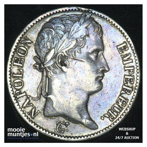 5 francs - France 1811 A (Paris) (KM 694.1) (kant B)