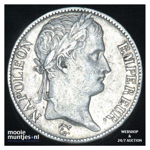 5 francs - France 1812 M (Toulouse) (KM 694.10) (kant B)