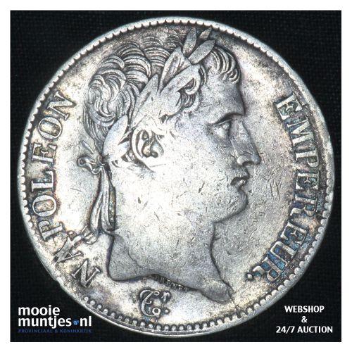 5 francs - France 1813 L (Bayonne) (KM 694.9) (kant B)