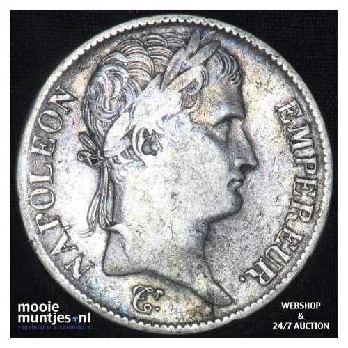 5 francs - France 1813 K (Bourdeaux) (KM 694.8) (kant B)