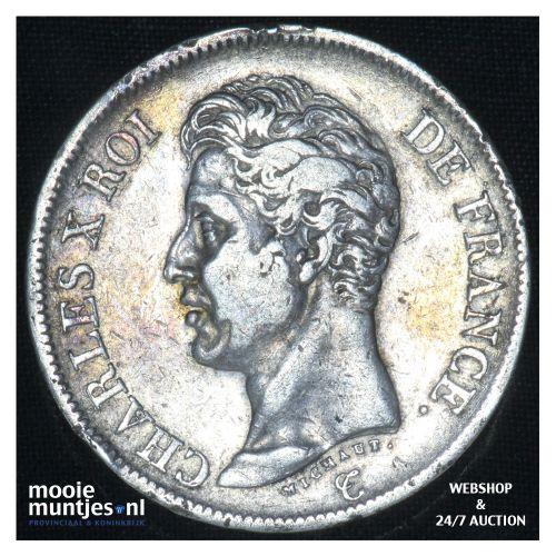 5 francs - France 1825 L (Bayonne) (KM 720.8) (kant B)