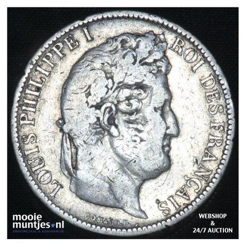 5 francs - France 1831 K (Lyon) (KM 735.4) (kant B)