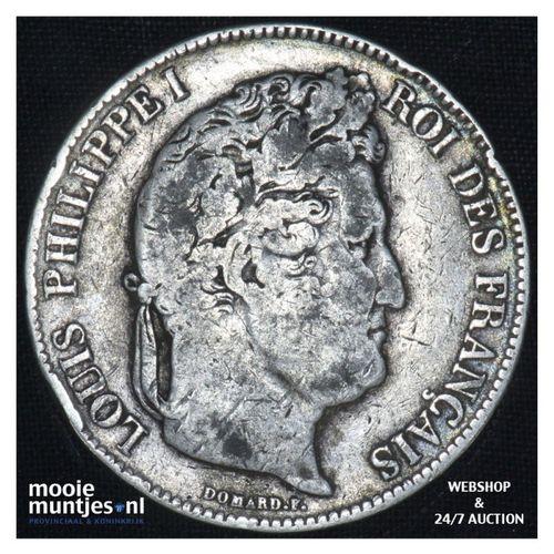 5 francs - France 1832 I (Limoges) (KM 749.1) (kant A)