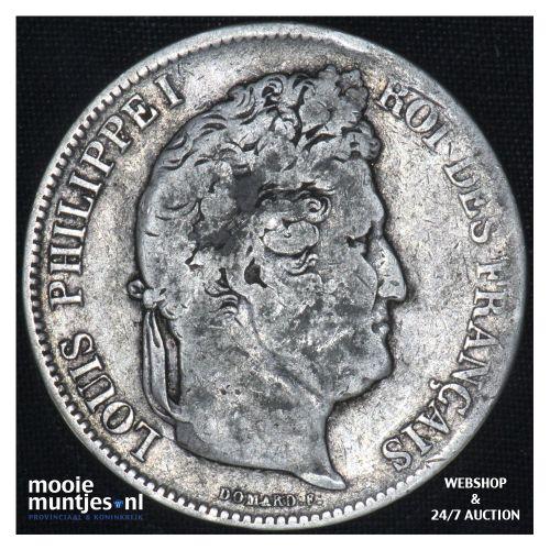5 francs - France 1833 MA (Marseille) (KM 749.4) (kant B)