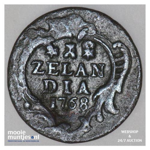 Zeeland - Duit - 1768 (kant A)