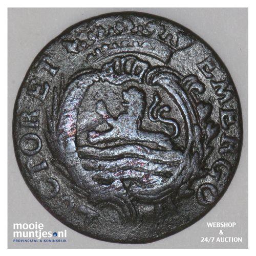 Zeeland - Duit - 1768 (kant B)