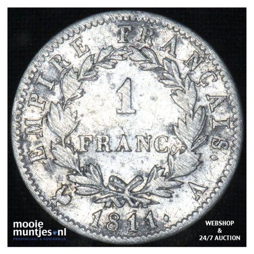 franc - France 1811 A (Paris) (KM 692.1) (kant A)