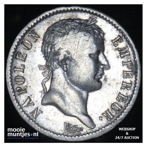 franc - France 1811 A (Paris) (KM 692.1) (kant B)