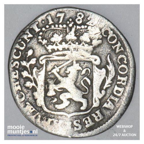 Zeeland - Achtste dukaat of Pietje - 1782 (kant A)