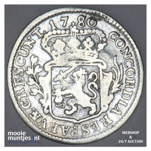 Zeeland - Achtste dukaat of Pietje - 1780 (kant A)