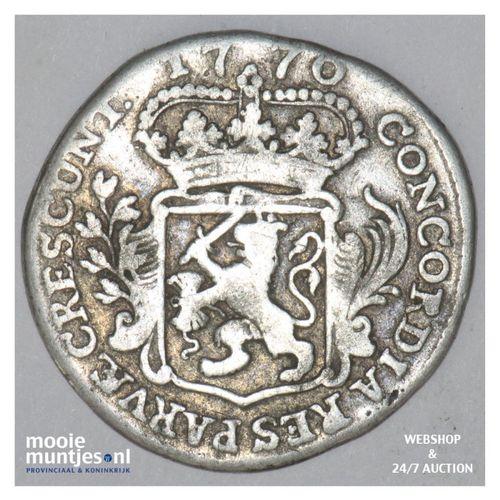 Zeeland - Achtste dukaat of Pietje - 1770 (kant A)
