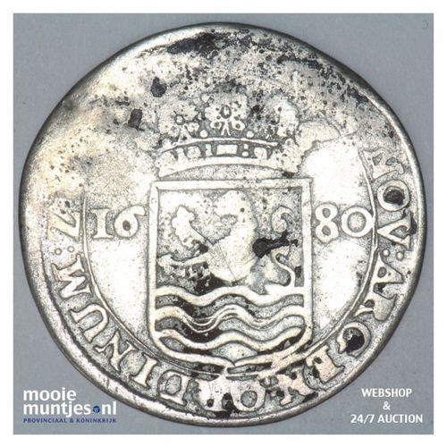 Zeeland - Hoedjesschelling - 1680 (kant A)