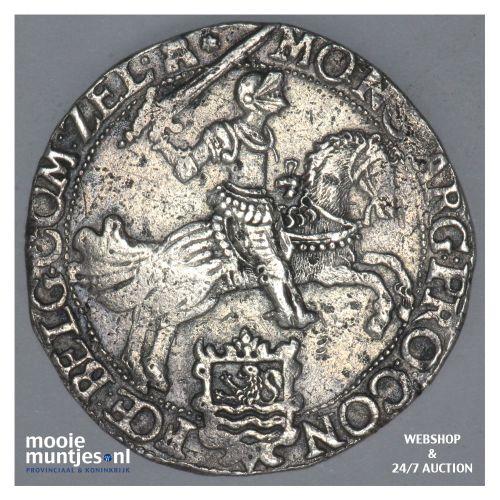 Zeeland - Zilveren rijder of dukaton - 1660 (kant B)