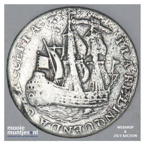 Zeeland - Scheepjesschelling - 1761 (kant B)