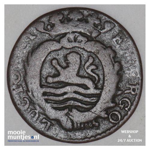 Zeeland - Duit - 1781 (kant B)