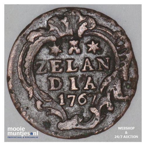 Zeeland - Duit - 1767 (kant A)