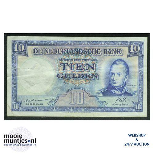 10 gulden  - 1945 (Mev. 46-2 / AV 35) (kant A)