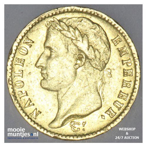 20 francs - Keizer Napoleon I - 1813 (kant B)