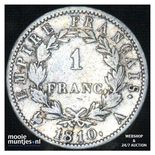 franc - France 1810 A (Paris) (KM 692.1) (kant A)