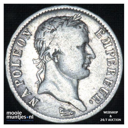 franc - France 1810 A (Paris) (KM 692.1) (kant B)