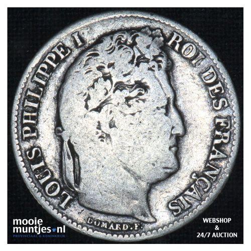 franc - France 1841 B (Rouen) (KM 748.2) (kant B)