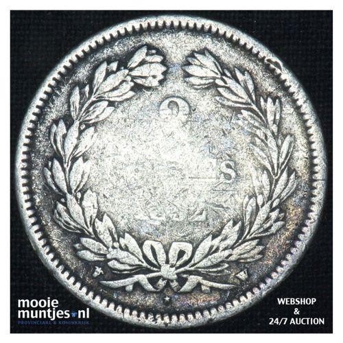 2 francs - France 1832 W (Lille) (KM 743.13) (kant A)