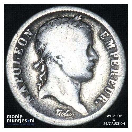 2 francs - France 1812 H (La Rochelle) (KM 693.6) (kant B)