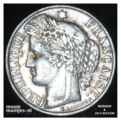 50 centimes - France 1882 A (Paris) (KM 834.1) (kant B)