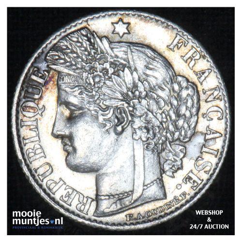 50 centimes - France 1881 A (Paris) (KM 834.1) (kant B)