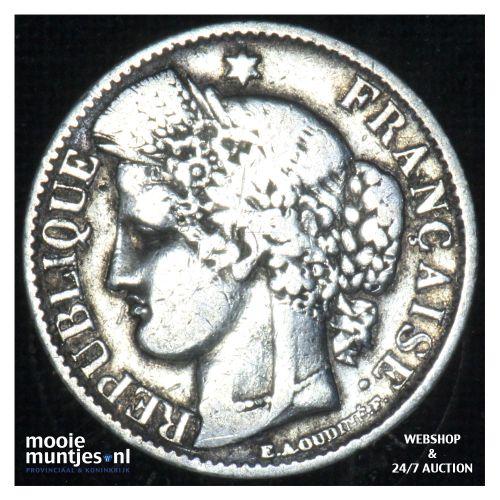 50 centimes - France 1850 A (Paris) (KM 769.1) (kant B)