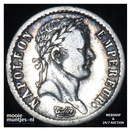 1/2 franc - France 1809 W (Lille) (KM 680.3) (kant B)