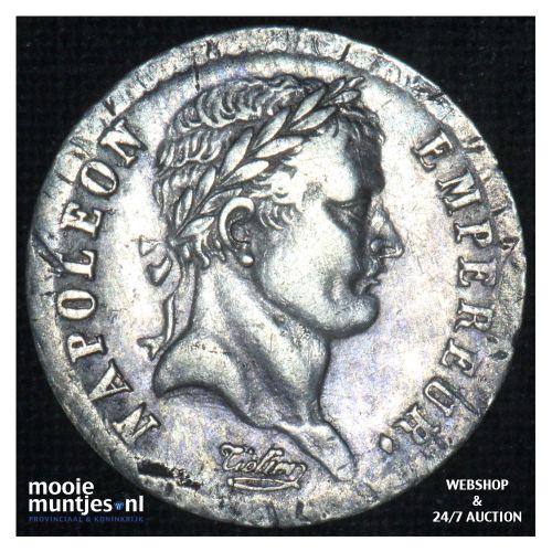 1/2 franc - France 1808 BB (Strasbourg) (KM 680.3) (kant B)