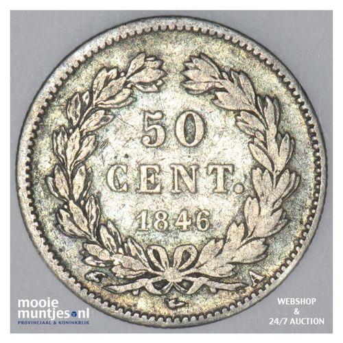 50 centimes - France 1846 A (Paris) (KM 768.1) (kant A)