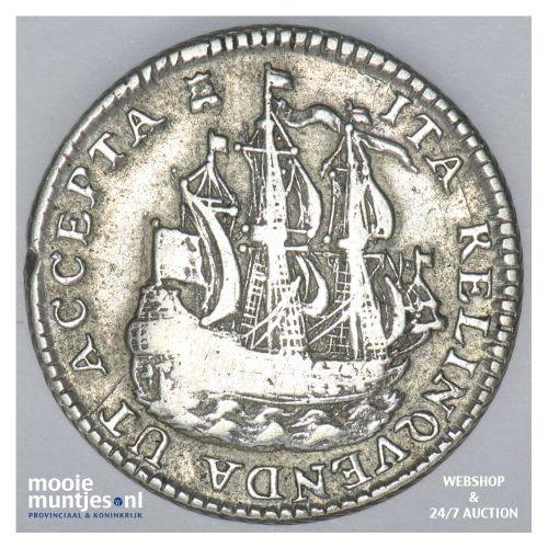 Zeeland - Scheepjesschelling - 1753 Piedfort (kant B)