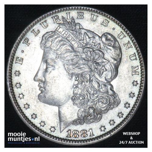dollar - Morgan -  - United States of America/Circulation coinage 1881 O (KM 110