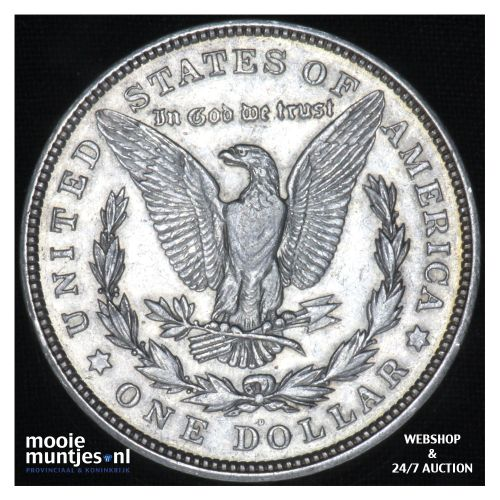 dollar - Morgan -  - United States of America 1921 D (KM 110) (kant B)