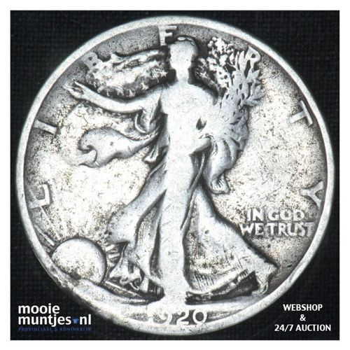half dollar - walking liberty -  - United States of America 1920 (KM 142) (kant