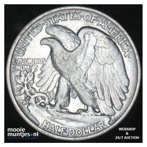 half dollar - walking liberty -  - United States of America 1940 (KM 142) (kant