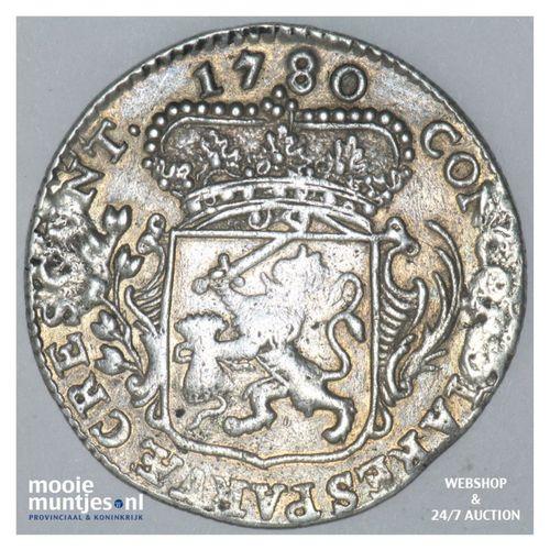Zeeland - Kwart dukaat  - 1780 (kant A)