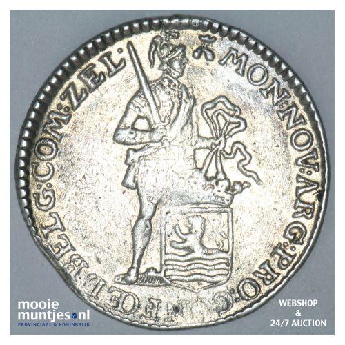 Zeeland - Kwart dukaat  - 1780 (kant B)