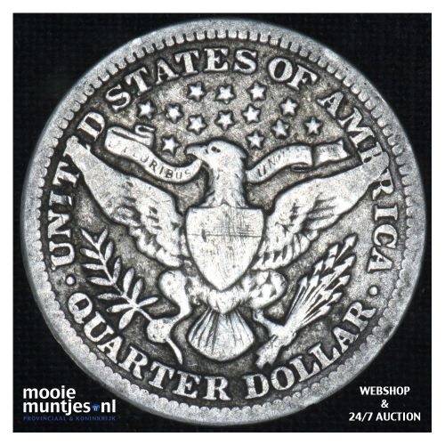 quarter - barber - - United States of America 1903 (KM 114) (kant B)